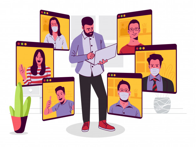 online-conference-meeting-illustration