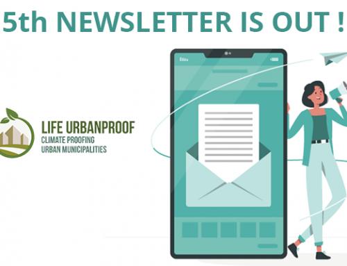 LIFE URBANPROOF la 5a Newsletter è pubblicata!