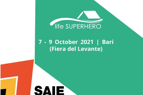 Life SUPERHERO at the 2nd edition of SAIE – Construction Fair